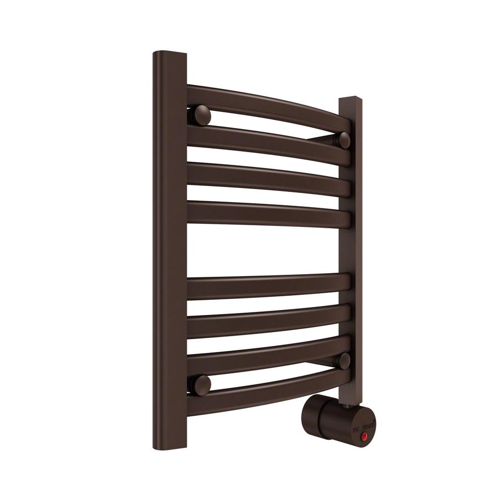 ANZZI Eve 8-Bar Stainless Steel Wall Mounted Electric Towel Warmer ...