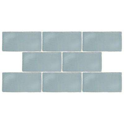 Chester Acqua 3 in. x 6 in. Ceramic Wall Tile (1 sq. ft. / pack)