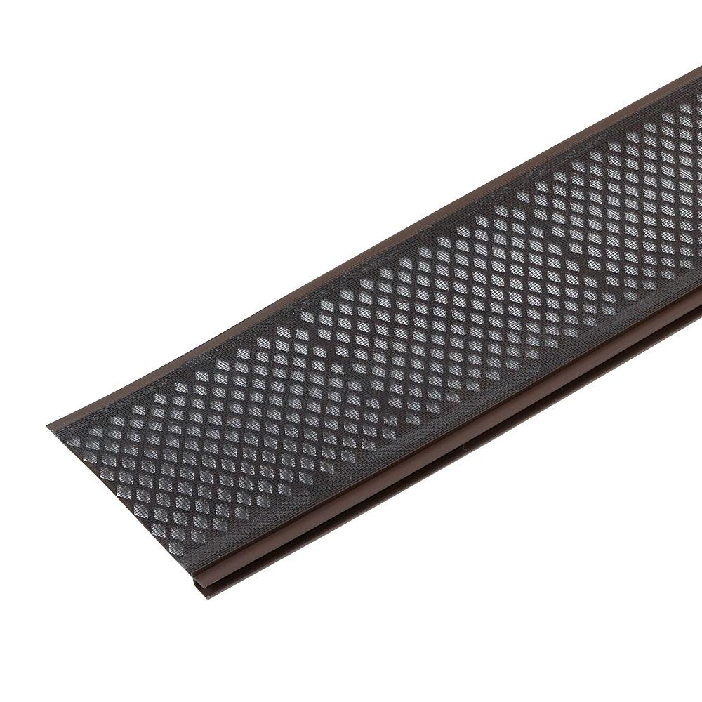 Amerimax Home Products Snap-In Filter Brown Gutter Guard
