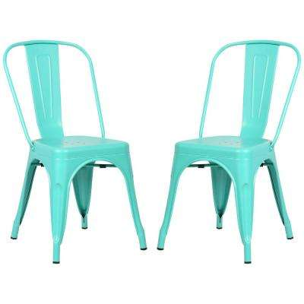 Trattoria Aqua Side Chair (Set of 2)
