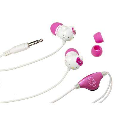 Earbud Headpones with In-Line Volume Control