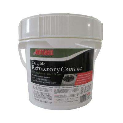 25 lbs. Castable Refractory Cement Tub