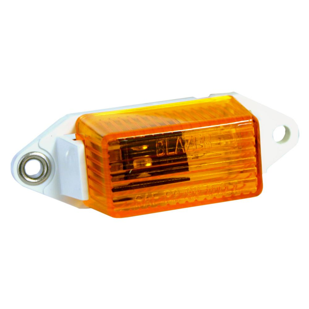 1-5/8 in. Ear Mount Clearance/Side Marker Light, Amber
