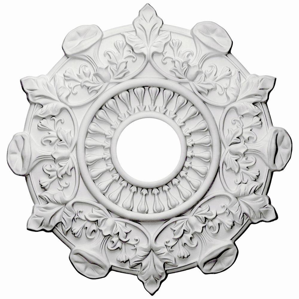 17-1/2 in. O.D. x 3-1/2 in. I.D. x 1 in. P Preston Ceiling Medallion