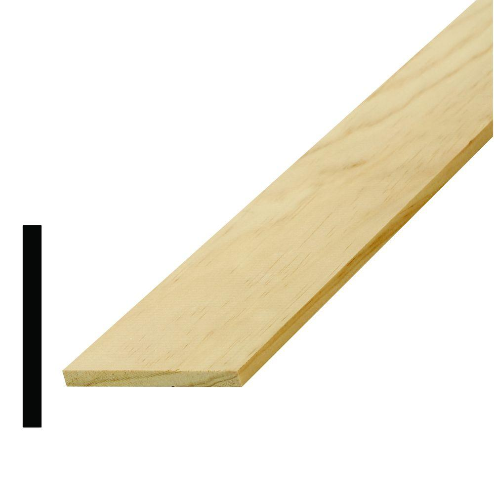 WM 263 1/4 in. x 2-1/2 in. Pine Lattice Moulding