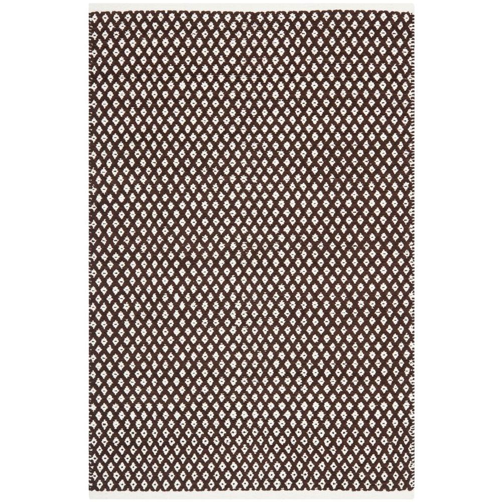 Boston Brown 4 ft. x 6 ft. Area Rug