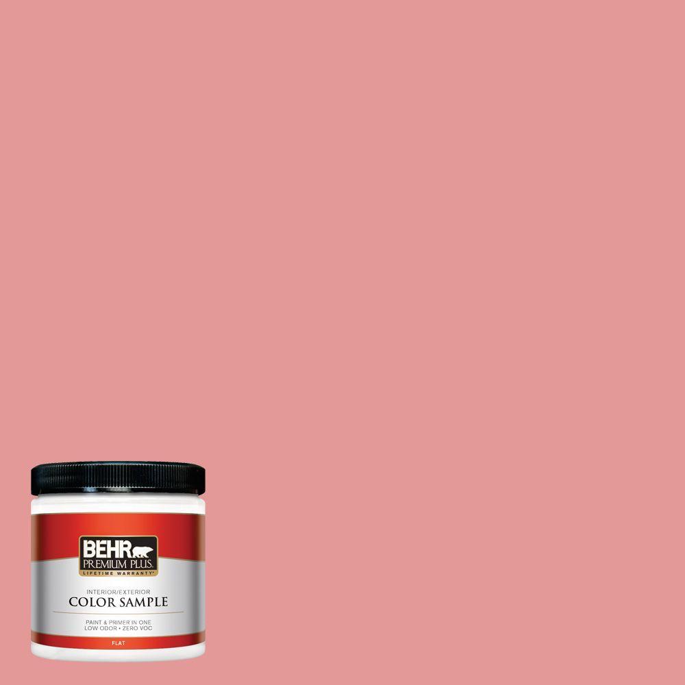 8 oz. #M160-4 She Loves Pink Interior/Exterior Paint Sample