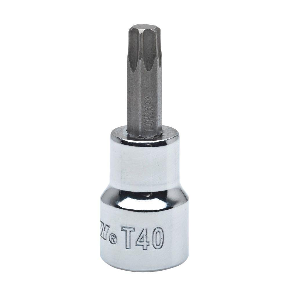 T40 Torx 3/8 in. Drive Bit Socket