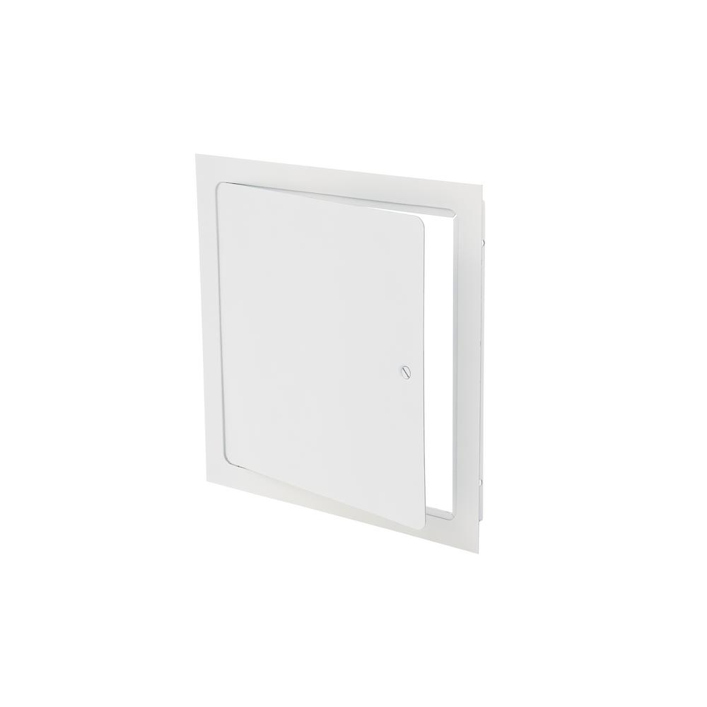 x 24 in 24 in Wall//Ceiling Access Door Panel Rounded Steel Universal Flush