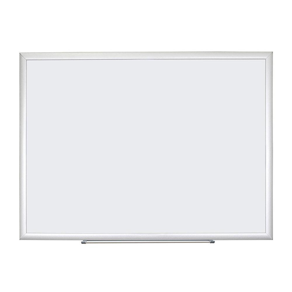 """U Brands Dry Erase Board, 94 x 47"""" - Aluminum Frame"""