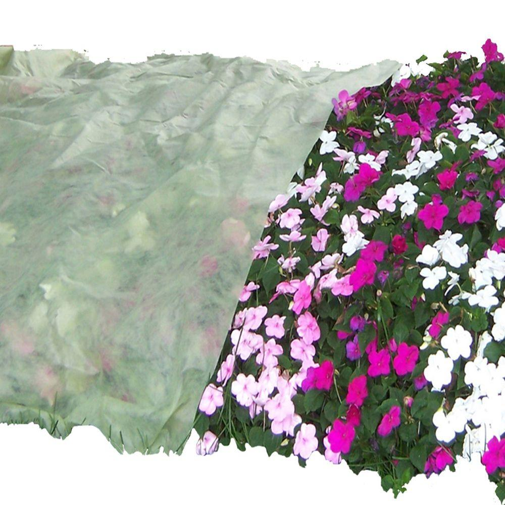 Frost Protek Polypropylene Flat Sheet Plant Covers (12-Pack)