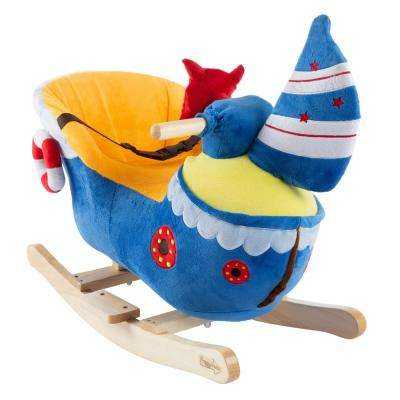 Kids Plush Rocking Boat