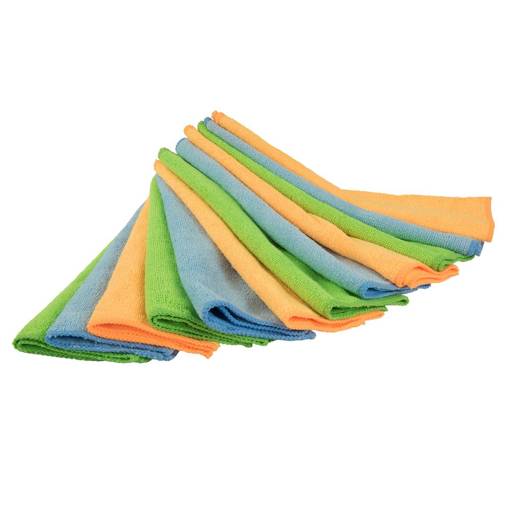Detailer's Choice Microfiber All-Purpose Cleaning Cloth (12-Pack)