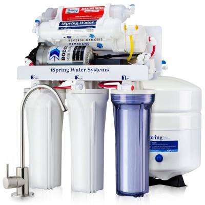 Maximum Performance Under Sink Reverse Osmosis Water Filtration System with Booster Pump and Alkaline Filter