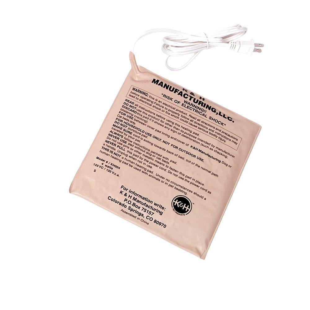 Small Tan Pet Bed Warmer