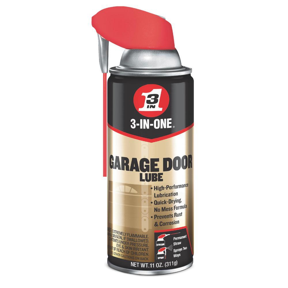 Wd 40 3 In 1 11 Oz Garage Door Lubricant 100584 The Home Depot