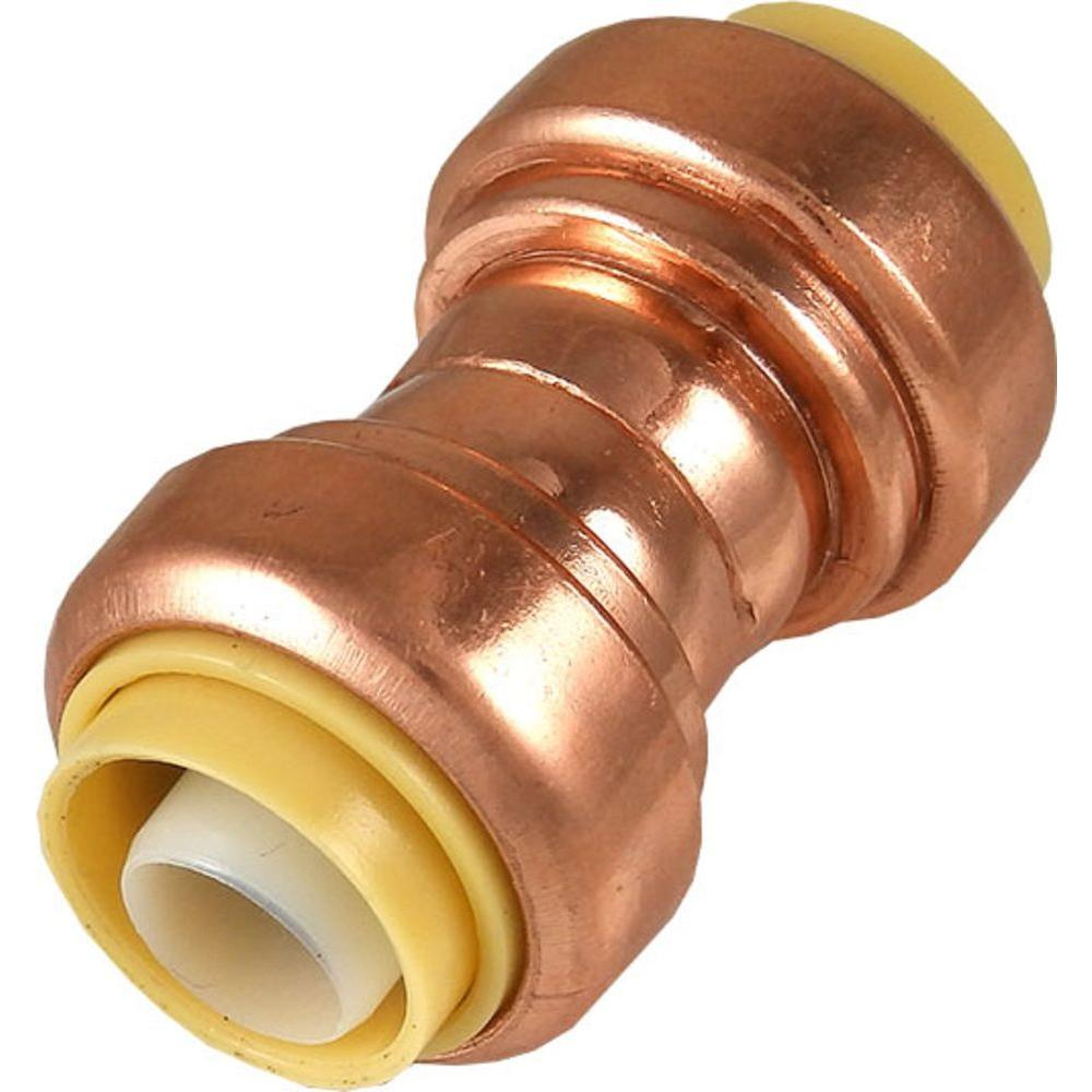 1/2 in. Copper Push-to-Connect Coupling