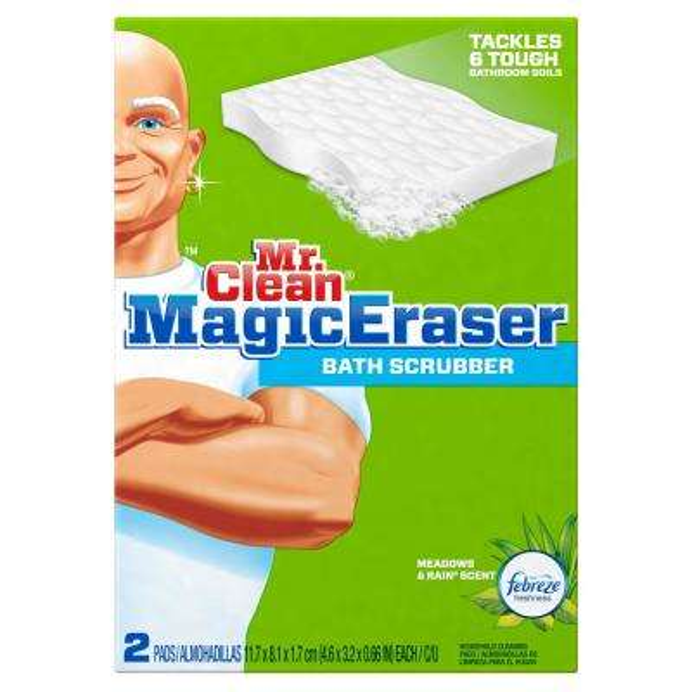 Magic Eraser Bath Scrubber Sponge (2-Pack)