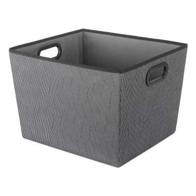 15 in. D x 13 in. W x 10 in. H 33.7 Qt. Fabric Tote