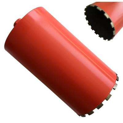 8 in. x 14 in. Wet Diamond Core Bit for Concrete and Masonry
