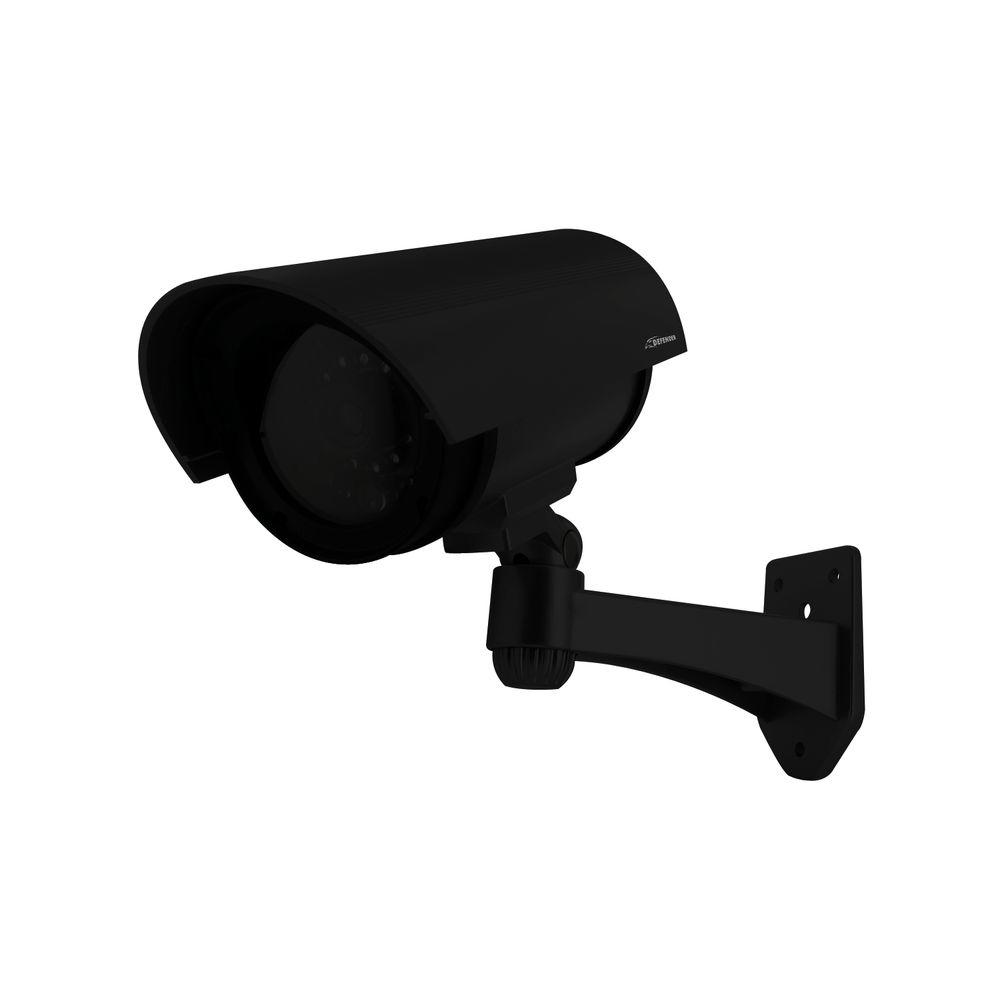 Defender Imitation Security Camera with Realistic Flashing Red LED-DISCONTINUED