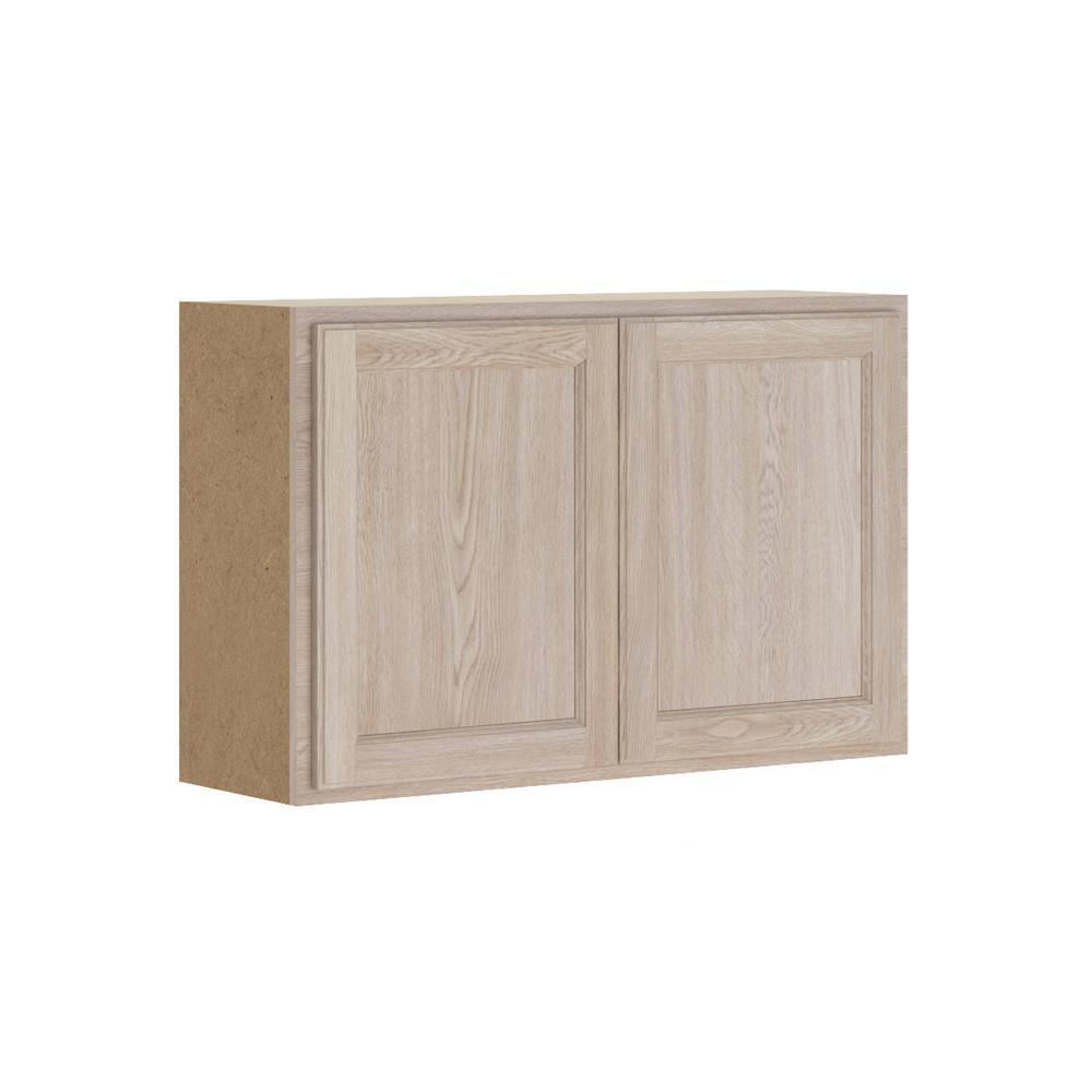 Home Depot Unfinished Kitchen Cabinets: Hampton Bay Stratford Assembled 36x24x12 In. Wall Bridge