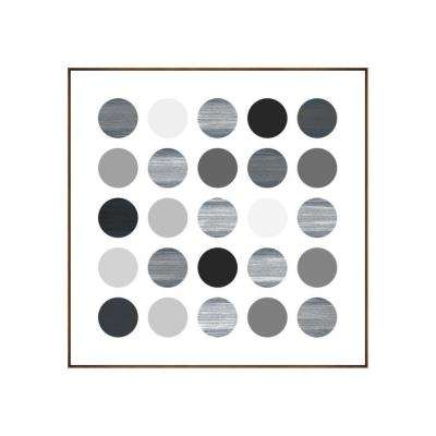 "25.25 in. x 25.25 in. ""Planets II"" by Bobby Berk Printed Framed Wall Art"