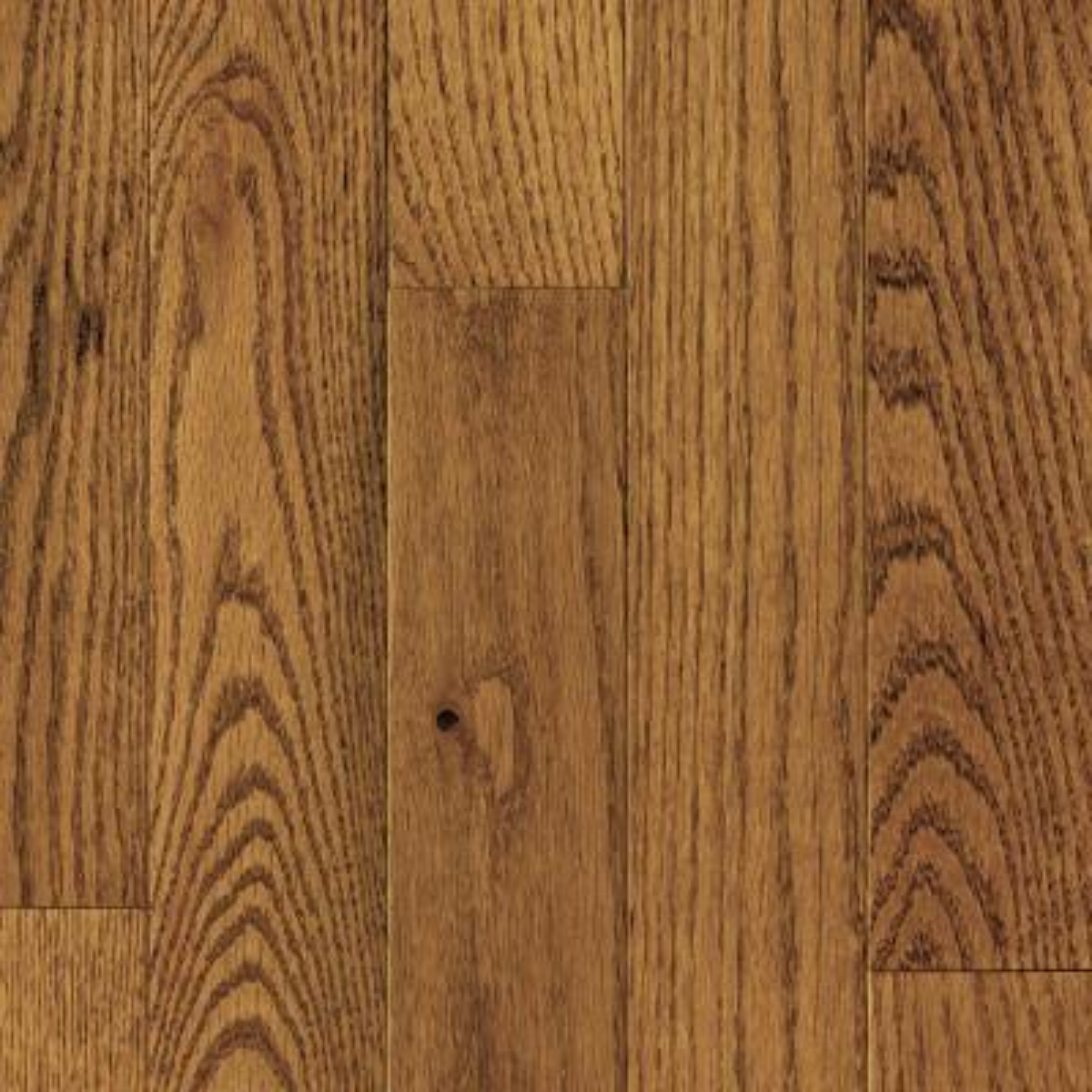 Honey Wheat Oak 3/4 in. T x 2-1/4 in. W x Varying Length Solid Hardwood Flooring ( 24 sq.ft. /case)