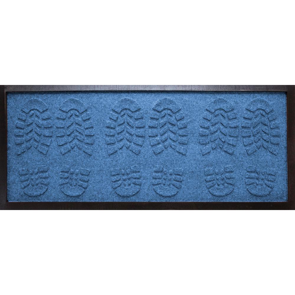 Aqua Shield Medium Blue 15 In X 36 Lug Sole Boot Tray