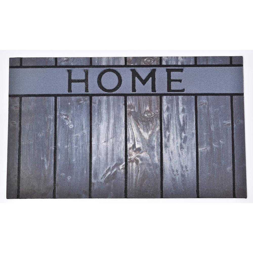 Outdoor Front Door Mats.Evideco 30 In X 18 In Grey Outdoor Front Door Mat Home Rubber