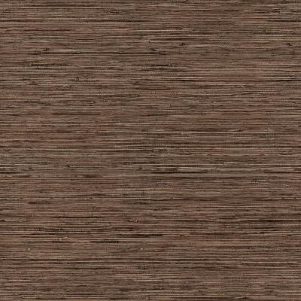 Grasscloth Brown Vinyl Peelable Wallpaper (Covers 28.18 sq. ft.)