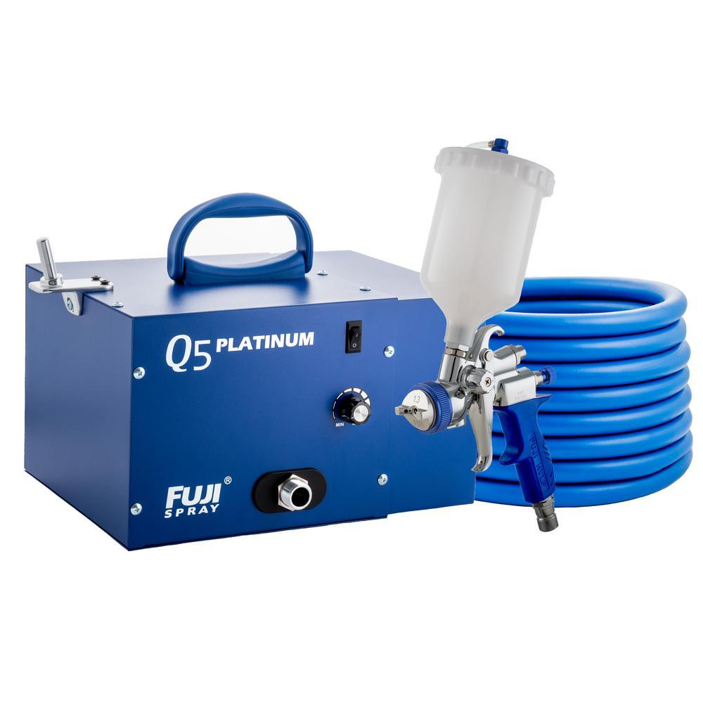 Fuji Spray Q5 PLATINUM T75G Gravity HVLP Spray System