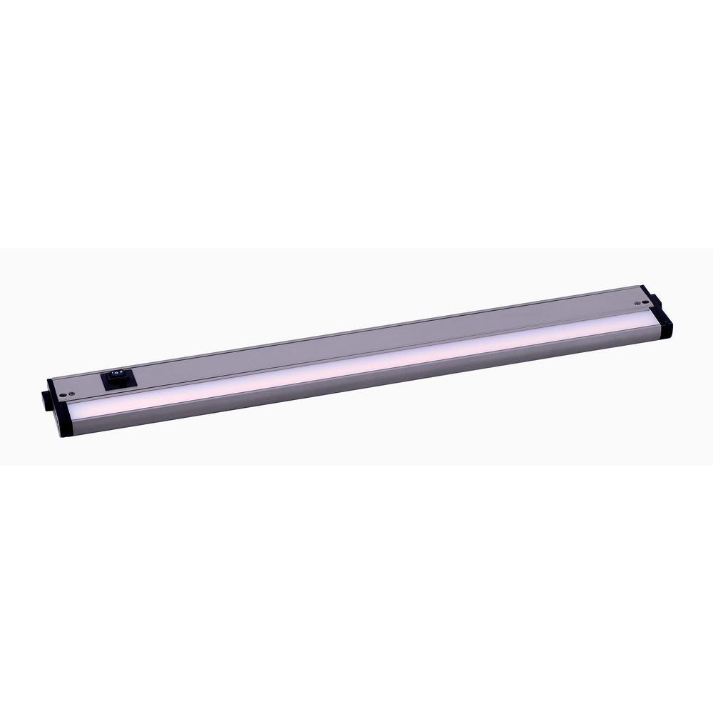 Maxim Lighting CounterMax Basic 24 in. Long LED Satin Nickel Under Cabinet Light