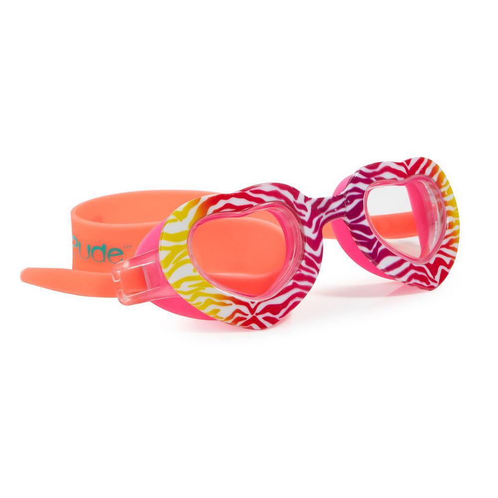 Zebra Heart and Lash Classic Goggle Bundle