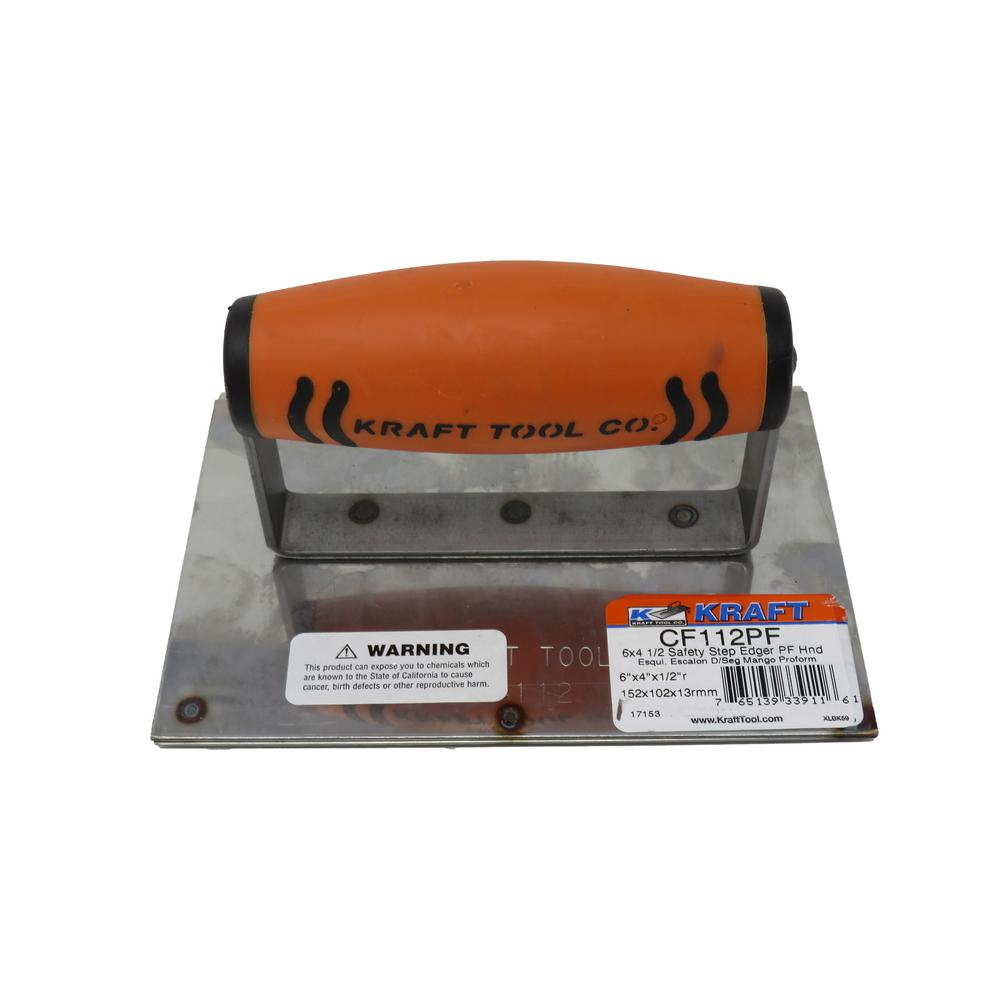 6 in. x 4 in. Safety Step Edger Groover - ProForm