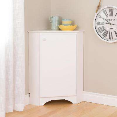 Elite White Storage Cabinet
