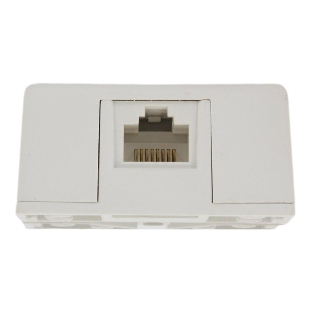 leviton 8p8c surface mount jack, white 40278 w the home depot8p8c surface mount jack, white