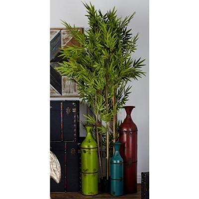 77 in. Artificial Potted Bamboo Tree