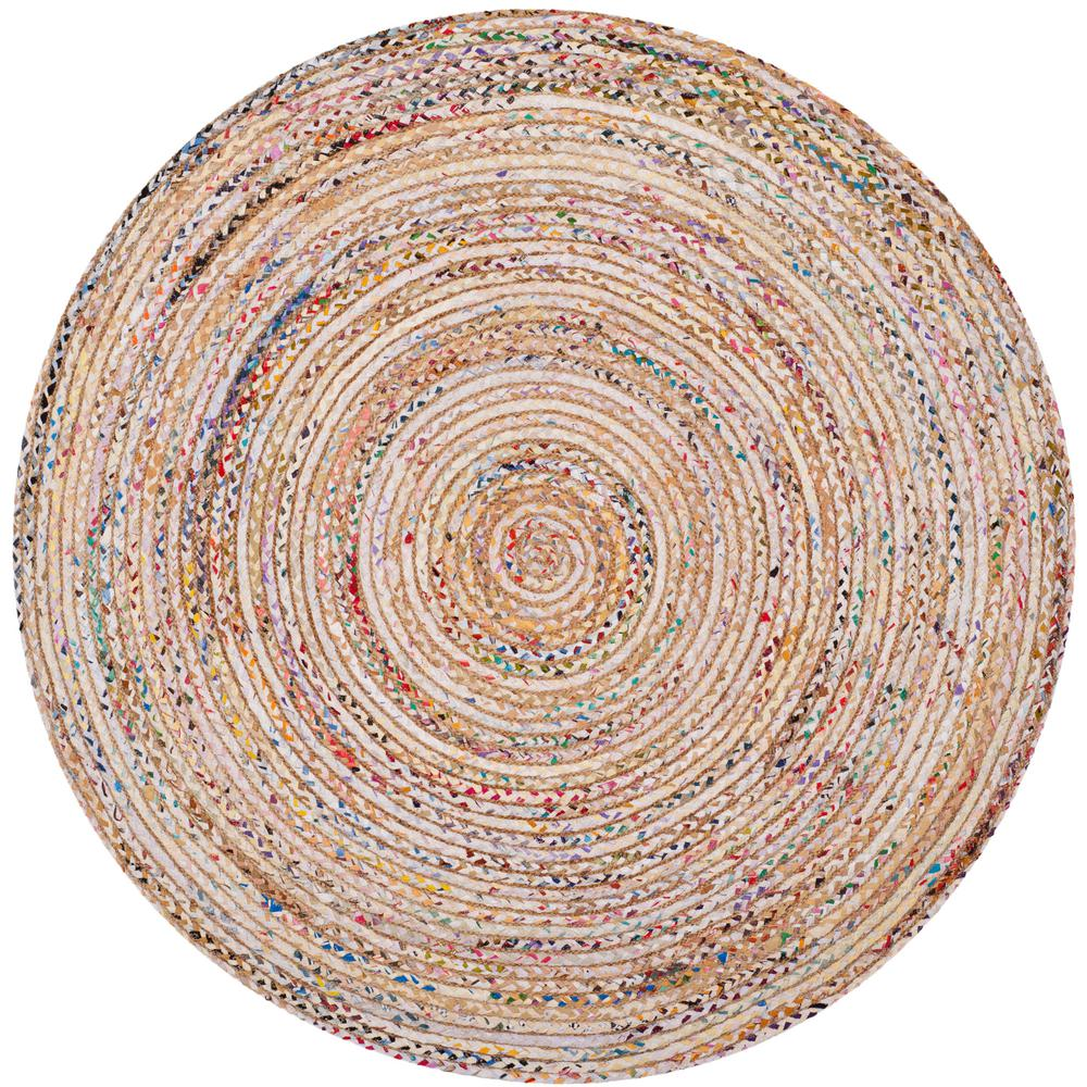 Safavieh Cape Cod Beige Multi 3 Ft X Round Area Rug