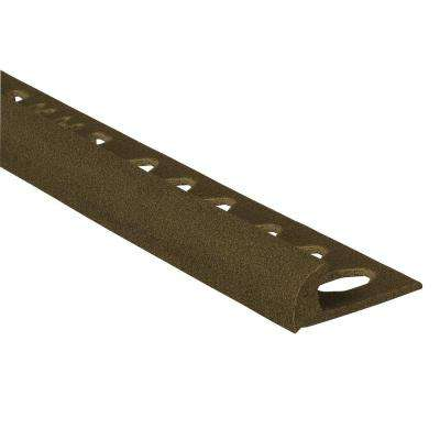 Novocanto Maxi Slate 3/8 in. x 98-1/2 in. Composite Tile Edging Trim