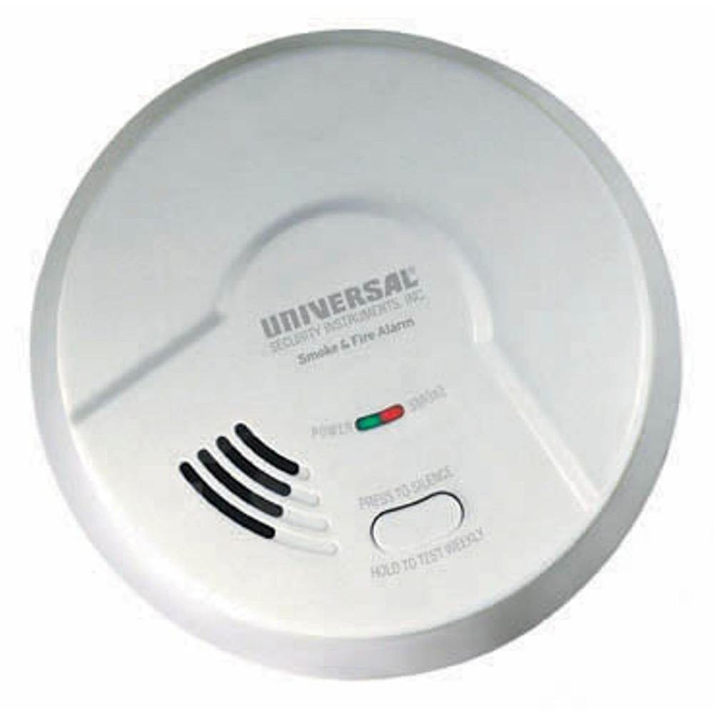 Universal Security Instruments Battery Operated Photoelectric MP308 Smoke Alarm
