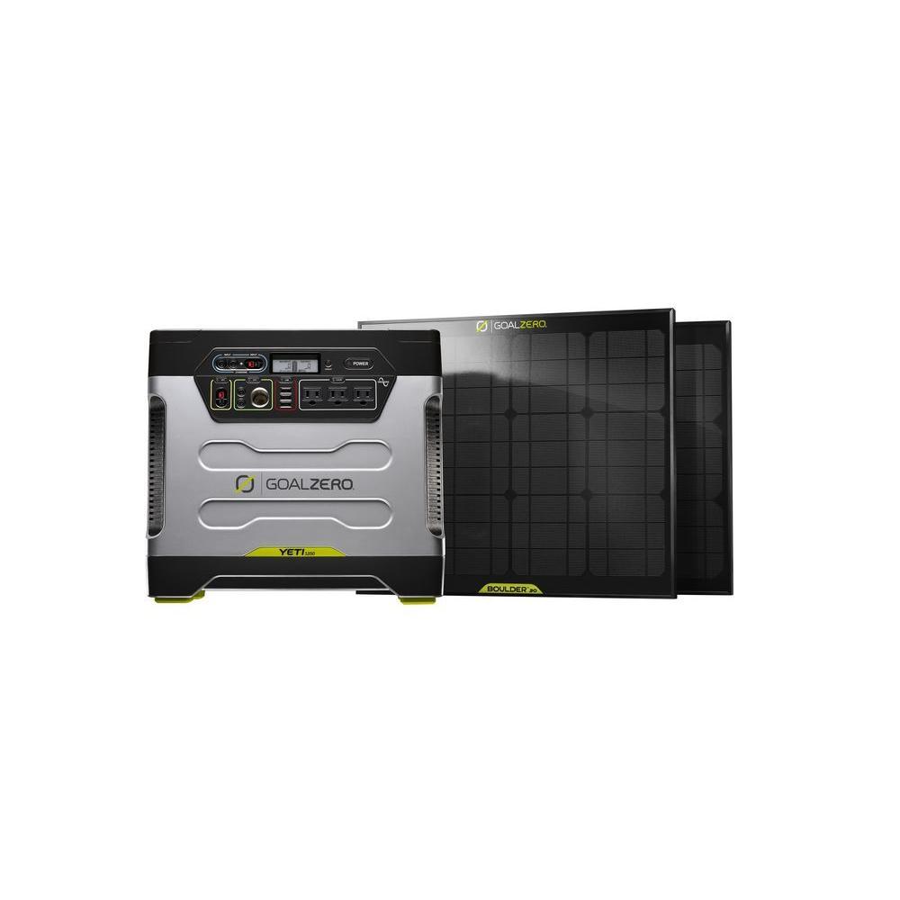 Goal Zero Yeti 1250 30-Watt Solar Generator Kit