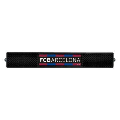 FC Barcelona Black 3.25 in. Indoor Rectangle Drink Mat Drying Mat