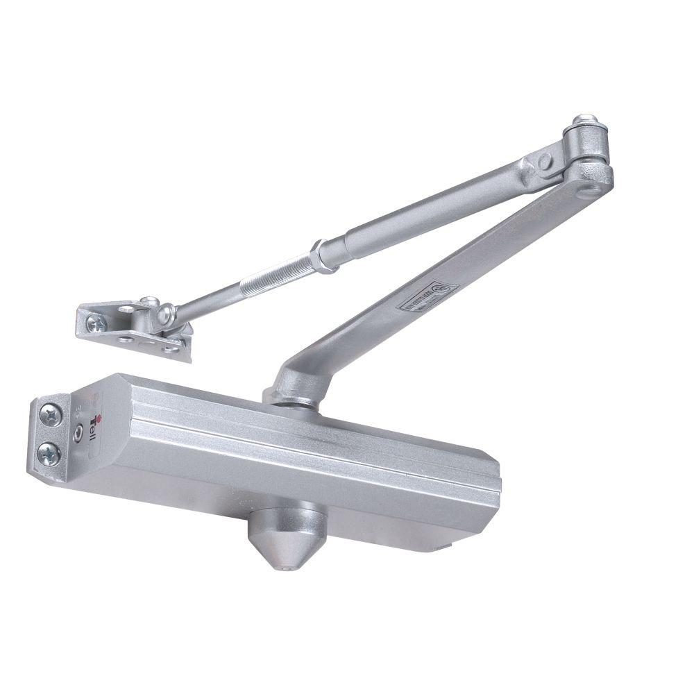 Tell Heavy Duty Aluminum Adjustable 1-4 Door Closer  sc 1 st  The Home Depot & Tell Heavy Duty Aluminum Adjustable 1-4 Door Closer-12641 PA AL ...