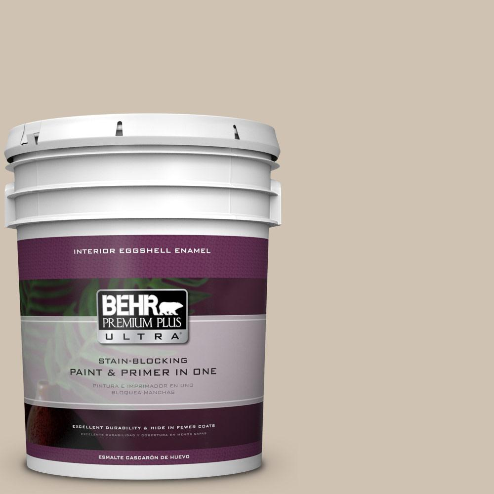 BEHR Premium Plus Ultra Home Decorators Collection 5 gal. #HDC-NT-13 Merino Wool Eggshell Enamel Interior Paint