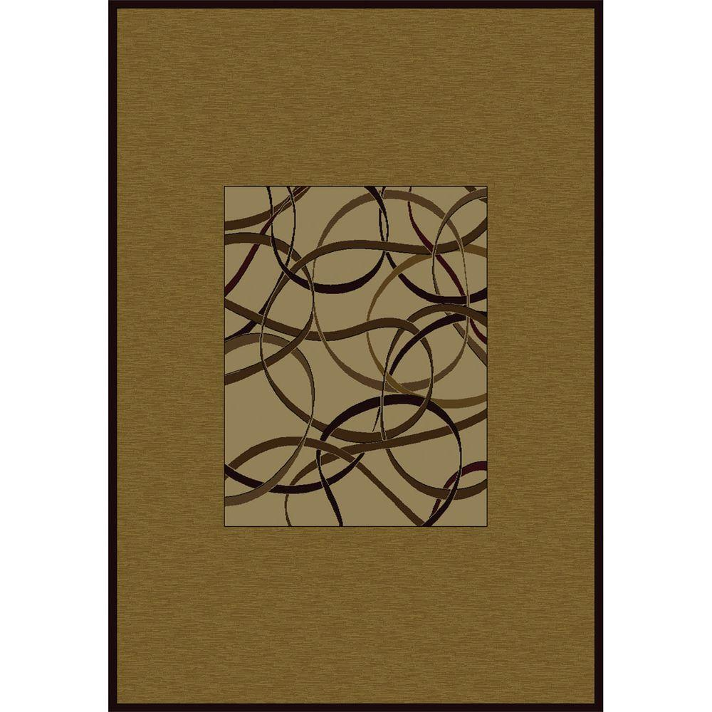 United Weavers Wildwind 5 ft. 3 in. x 7 ft. 6 in. Contemporary Area Rug