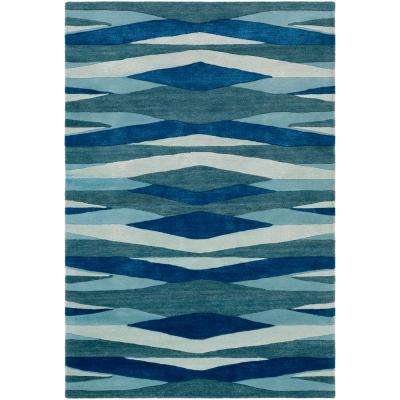 Montmartre Blue 2 ft. x 3 ft. Area Rug