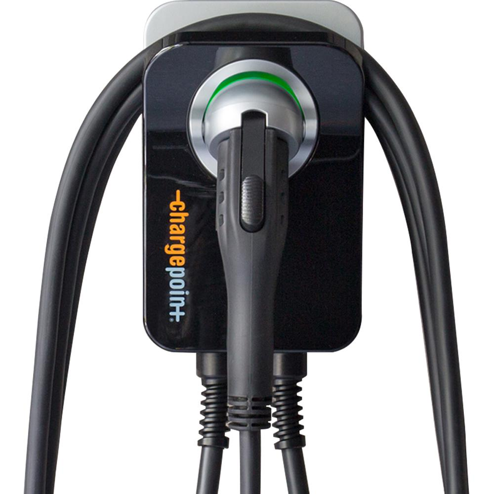 ChargePoint Home Electric Vehicle Charger Wi-Fi Enabled 25 ft. Cord 32 Amp Plug-In Station Indoor Install