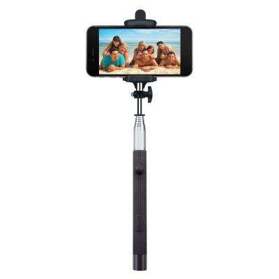Foldable Bluetooth Selfie Stick - Black