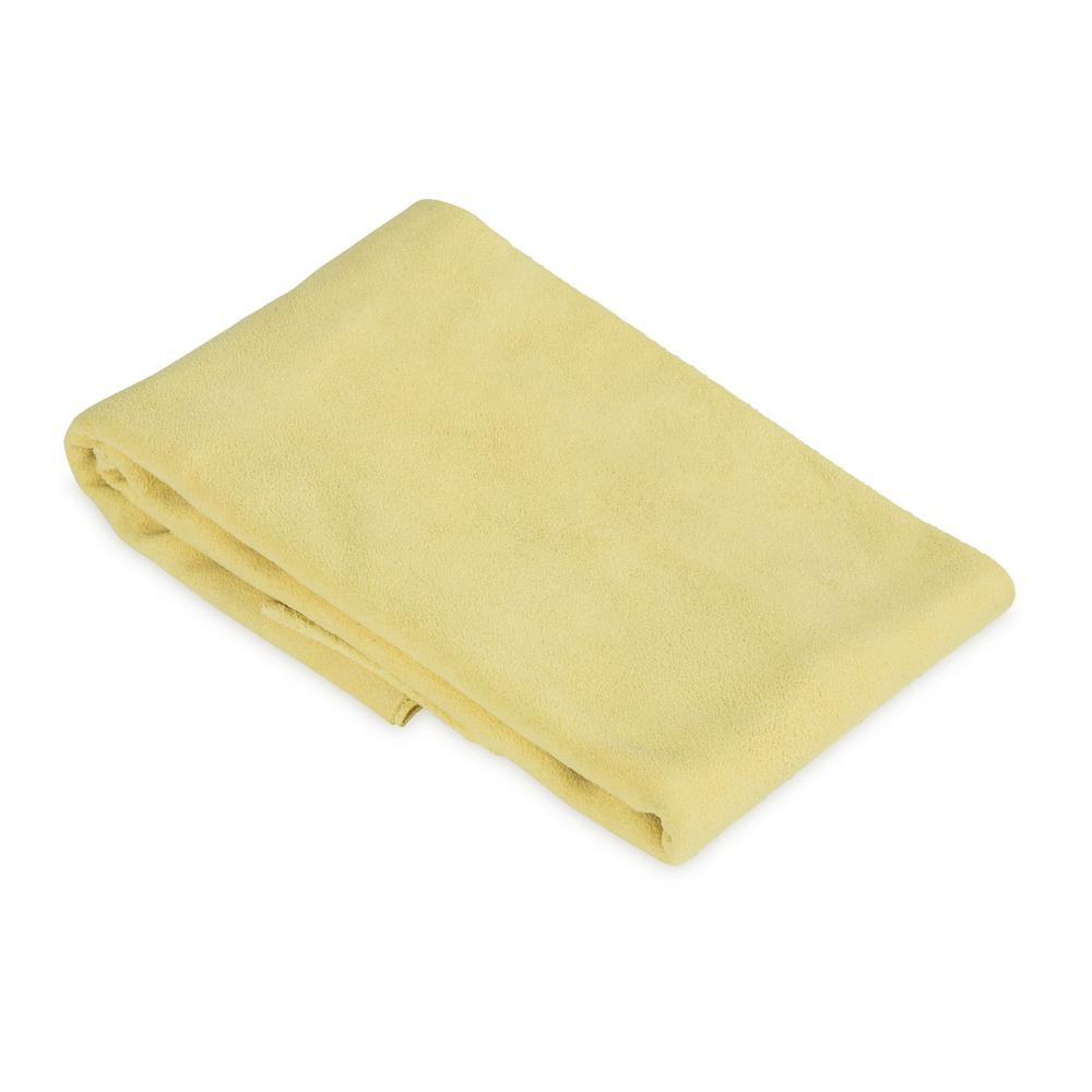 5.5 sq. ft. Genuine Leather Chamois